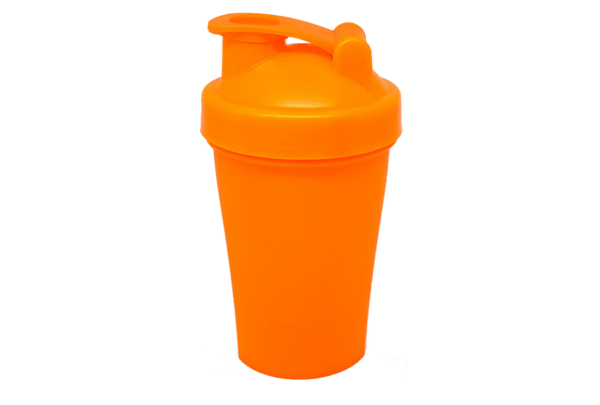 Шейкер 400 мл оранжевый