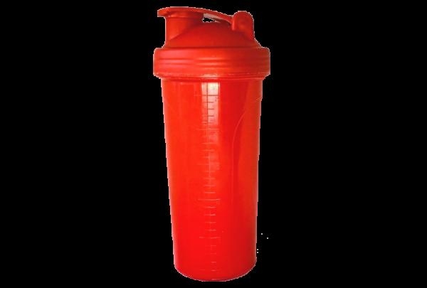 Шейкер 700 мл красный
