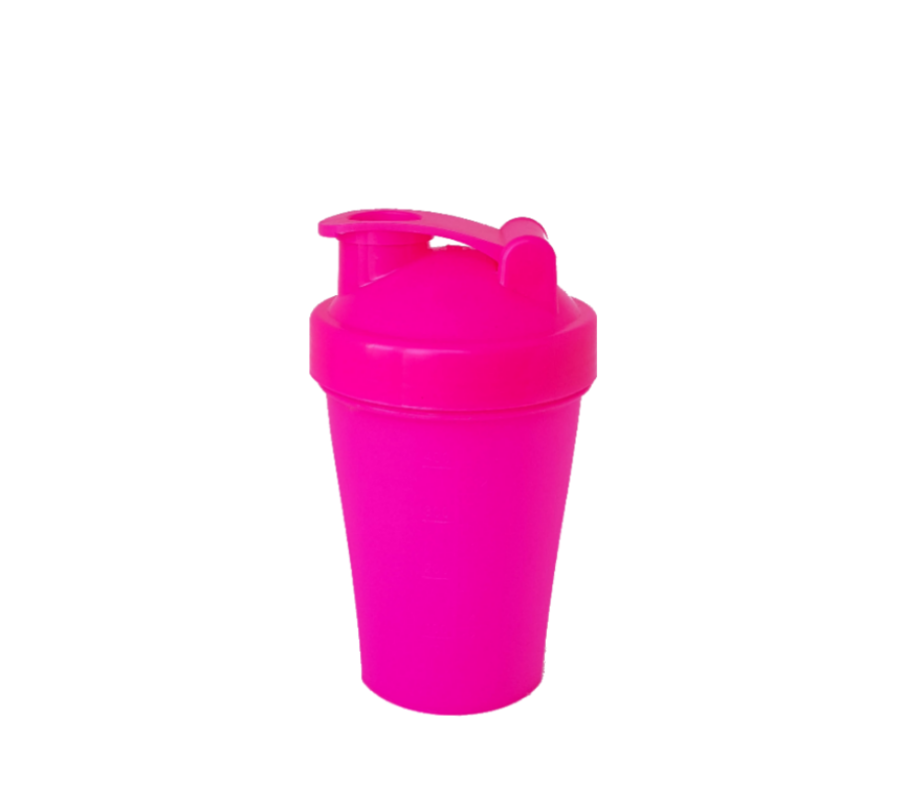 Шейкер 400 мл розовый