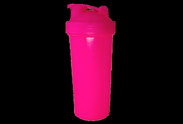 Шейкер 700 мл розовый
