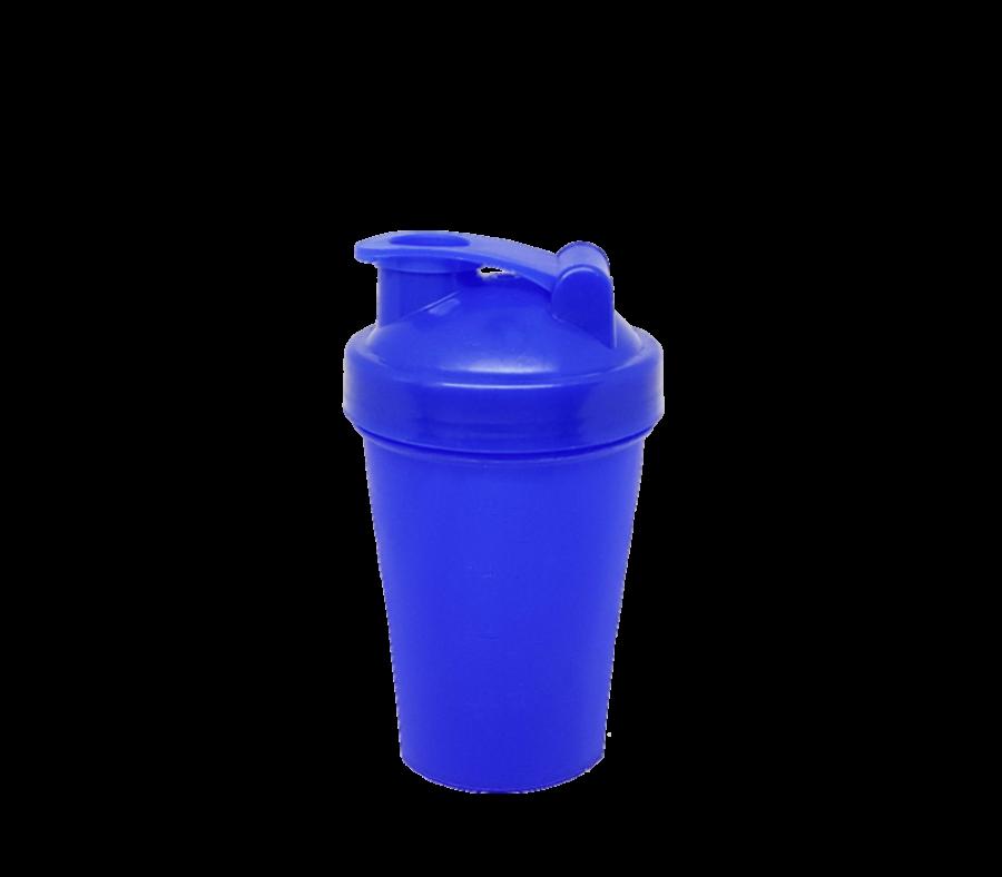 Шейкер 400 мл синий