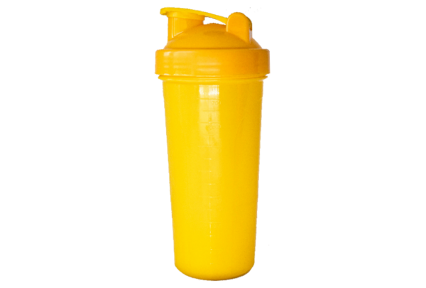 Шейкер 700 мл жёлтый